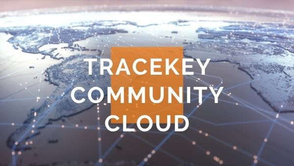 tracekey community cloud plus connected world