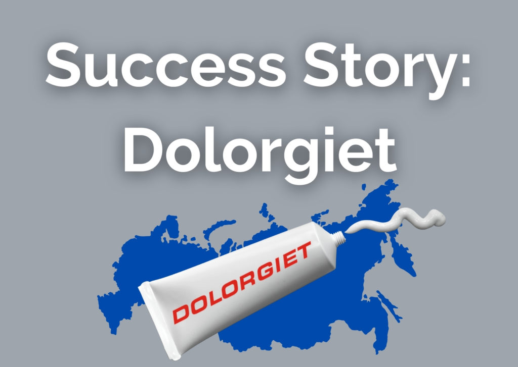 Success Story: Dolorgiet/Dr. Theiss Naturwaren are working with tracekey for Russia Serialization