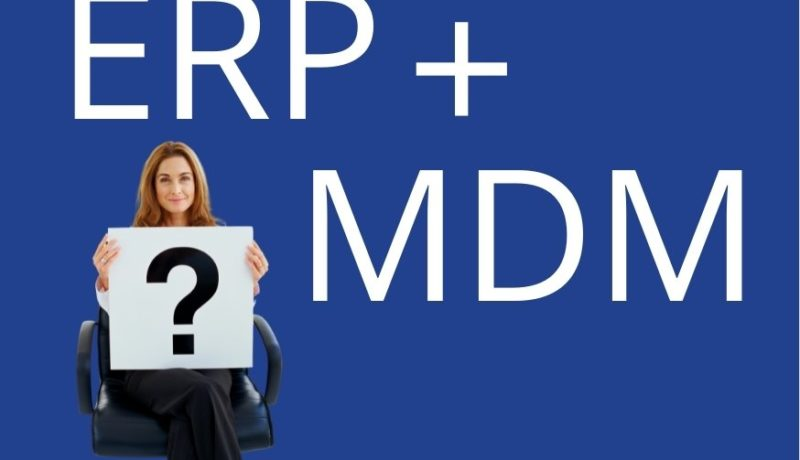 USPs of MDM system in comparison with ERP for Medical Technology companies